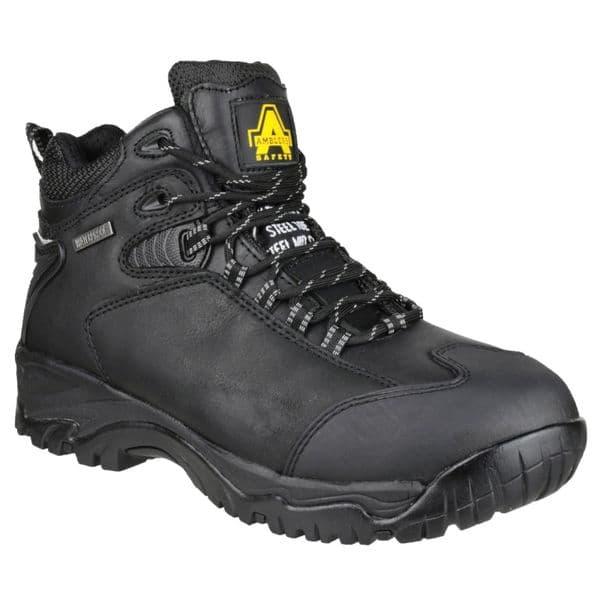 Amblers Safety FS190 Waterproof Safety Footwear Black
